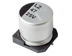 HLZ LOW IMPEDANCE ELECTROLYTIC CAPACITOR