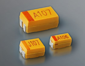 QCA45 Chip Tantalum Capacitors (Automotive Grade)